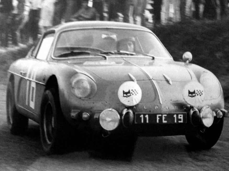 Débuts de Max au volant de l'Alpine A110 en 1967
