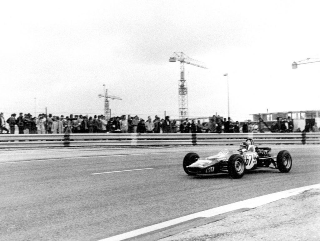 1971 - Circuit Paul Ricard En Construction