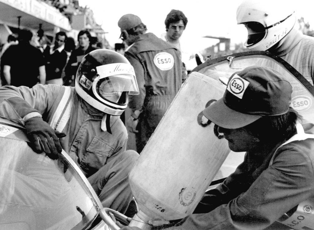 1977 - Le Mans - WM - Ravitaillement