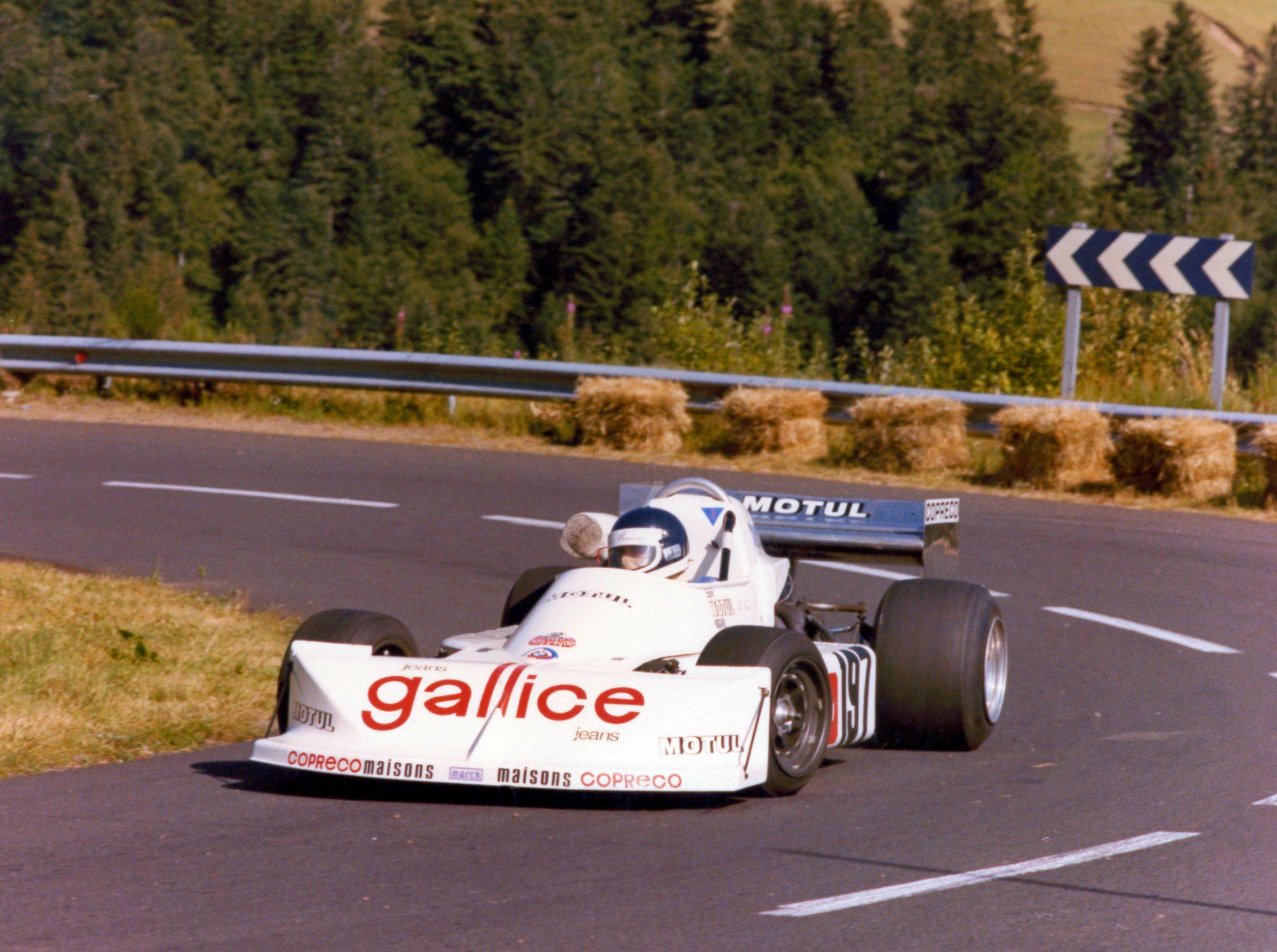 March 772 BMW - 1977 - Course de Côte