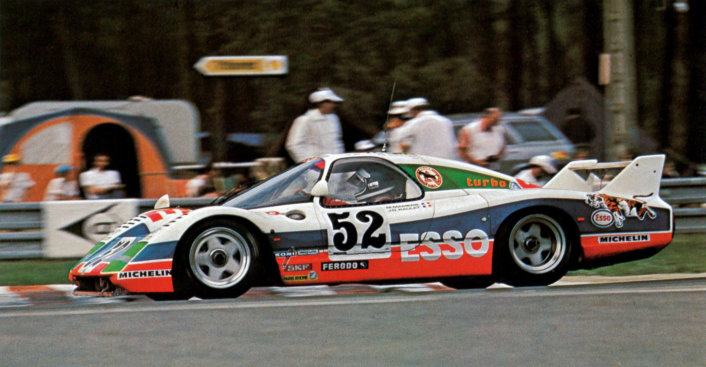 1979 - WM Peugeot 79 - 24h Le Mans - Raulet-Mamers