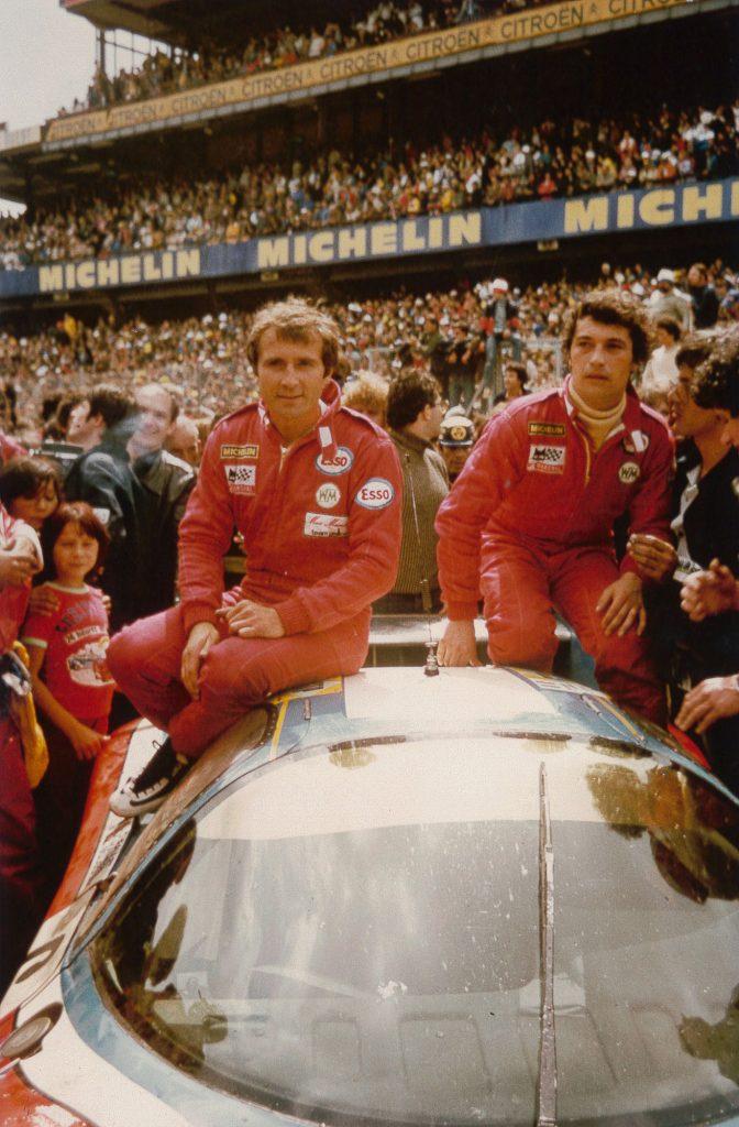 1980 - 24h Le Mans - WM Peugeot 80 - A l'arrivée JD Raulet et M. Marmers