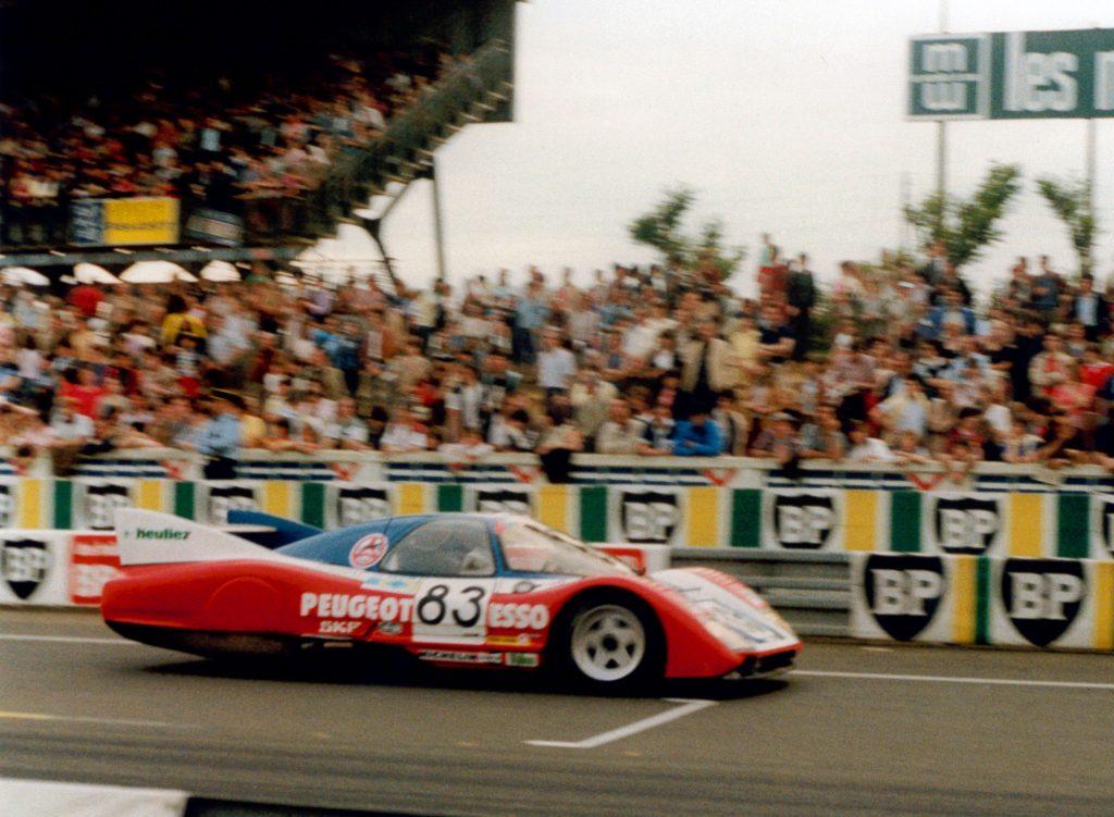 1981 - WM Peugeot - 24h Le Mans