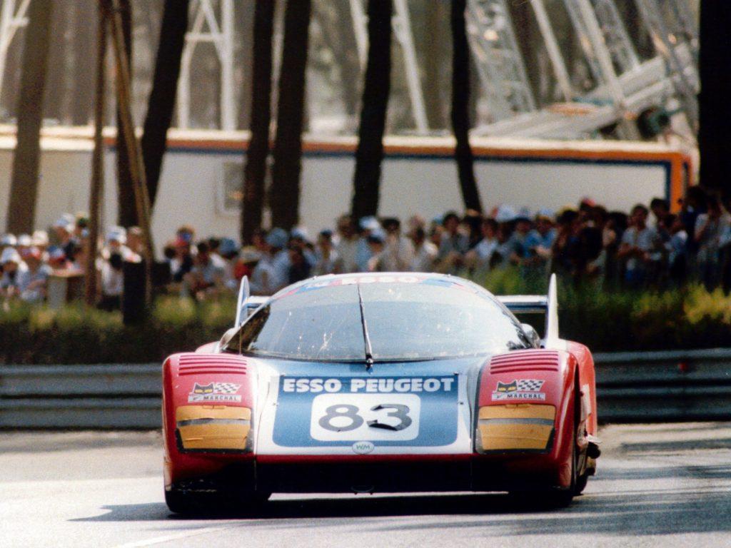 1981 - WM Peugeot - 24h Le Mans - 600cv - 380 km/h