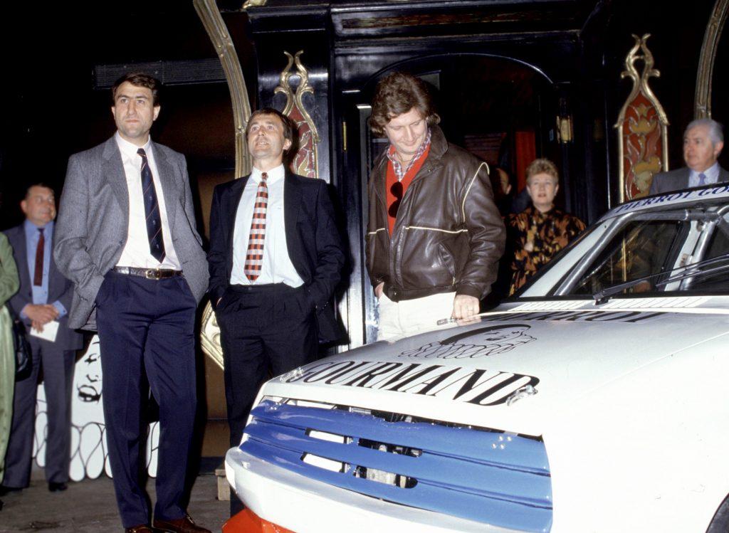 1985 - Patrick Sébastien et Jean-Luc Joinel sont parrains de la Citroën Visa 4x4 1600 de Max Mamers.