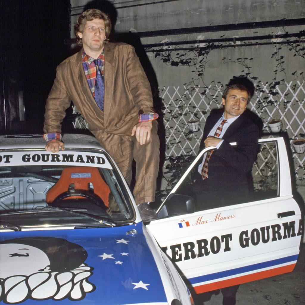 1986 - Patrick Sébastien parrain de l'écurie - BMW 325 IX