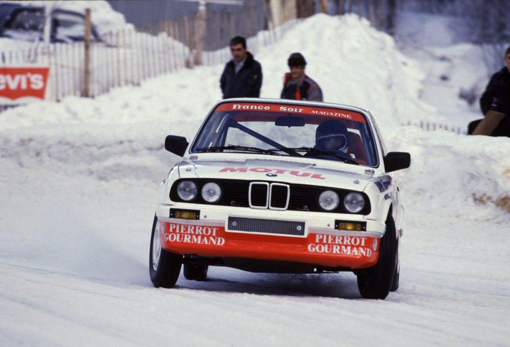 1986 - BMW 325 IX - 24h Chamonix