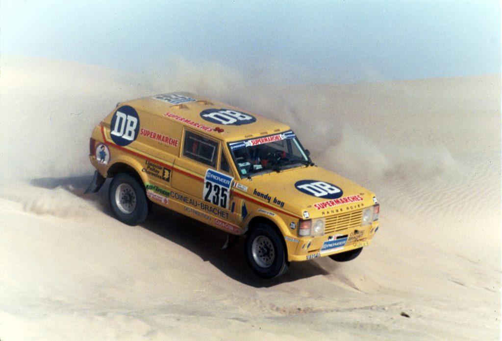 1988 - Range Rover - Paris Dakar