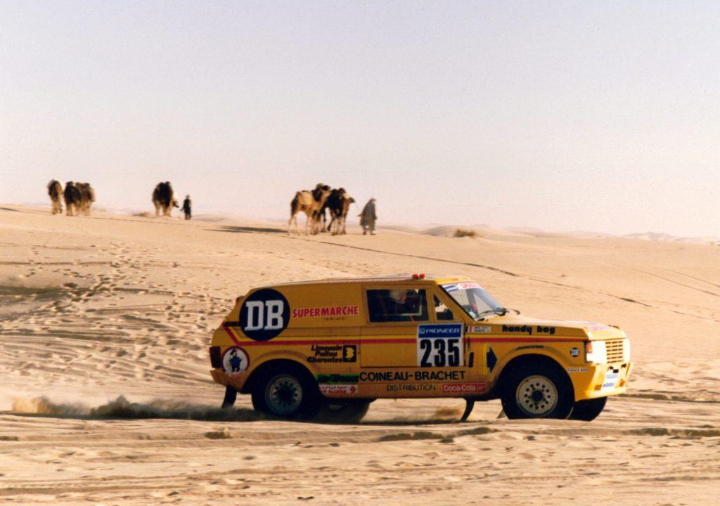 Range Rover - 1988 - Paris Dakar