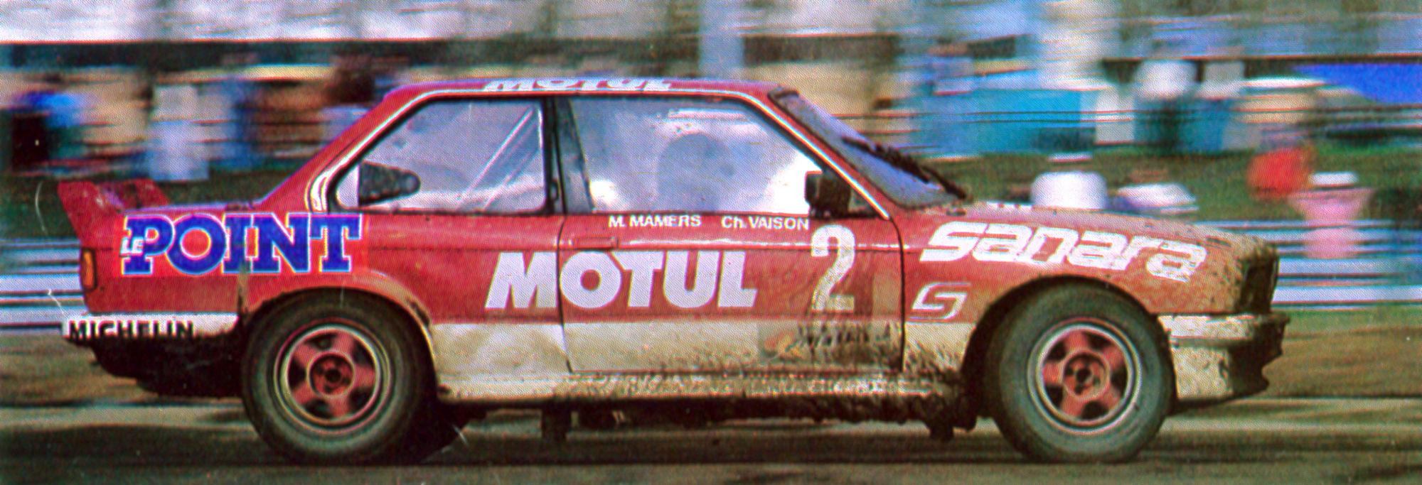 1989 - BMW 325 IX - 24h de Paris