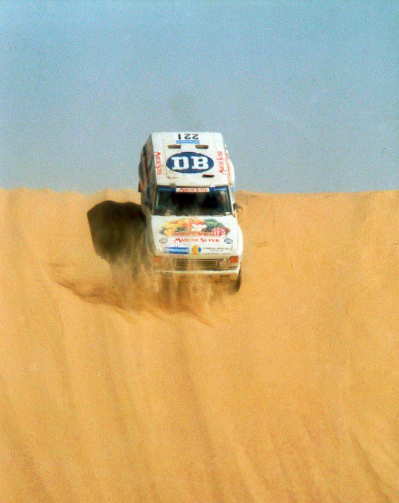 Range Rover - 1989 - Paris Dakar