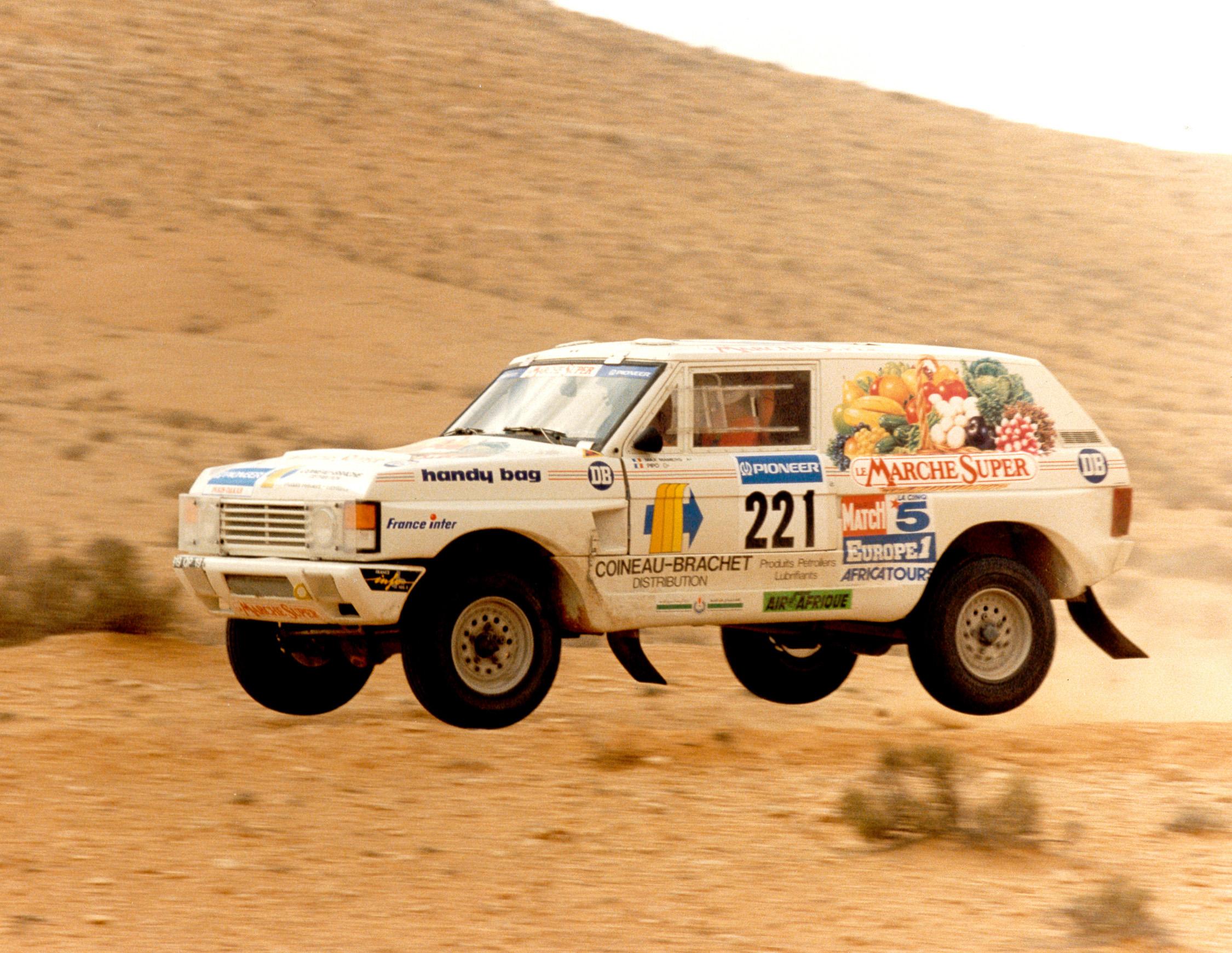 1989 - Paris Dakar - Range Rover