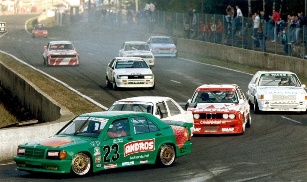 1990 - Mercedes 190 - Supertourisme - Montlhéry