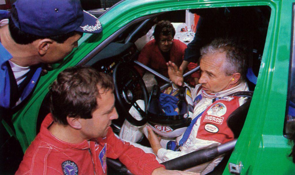 1989 - Relais avec Jean-Pierre Beltoise - Mercedes 190 - Supertourisme
