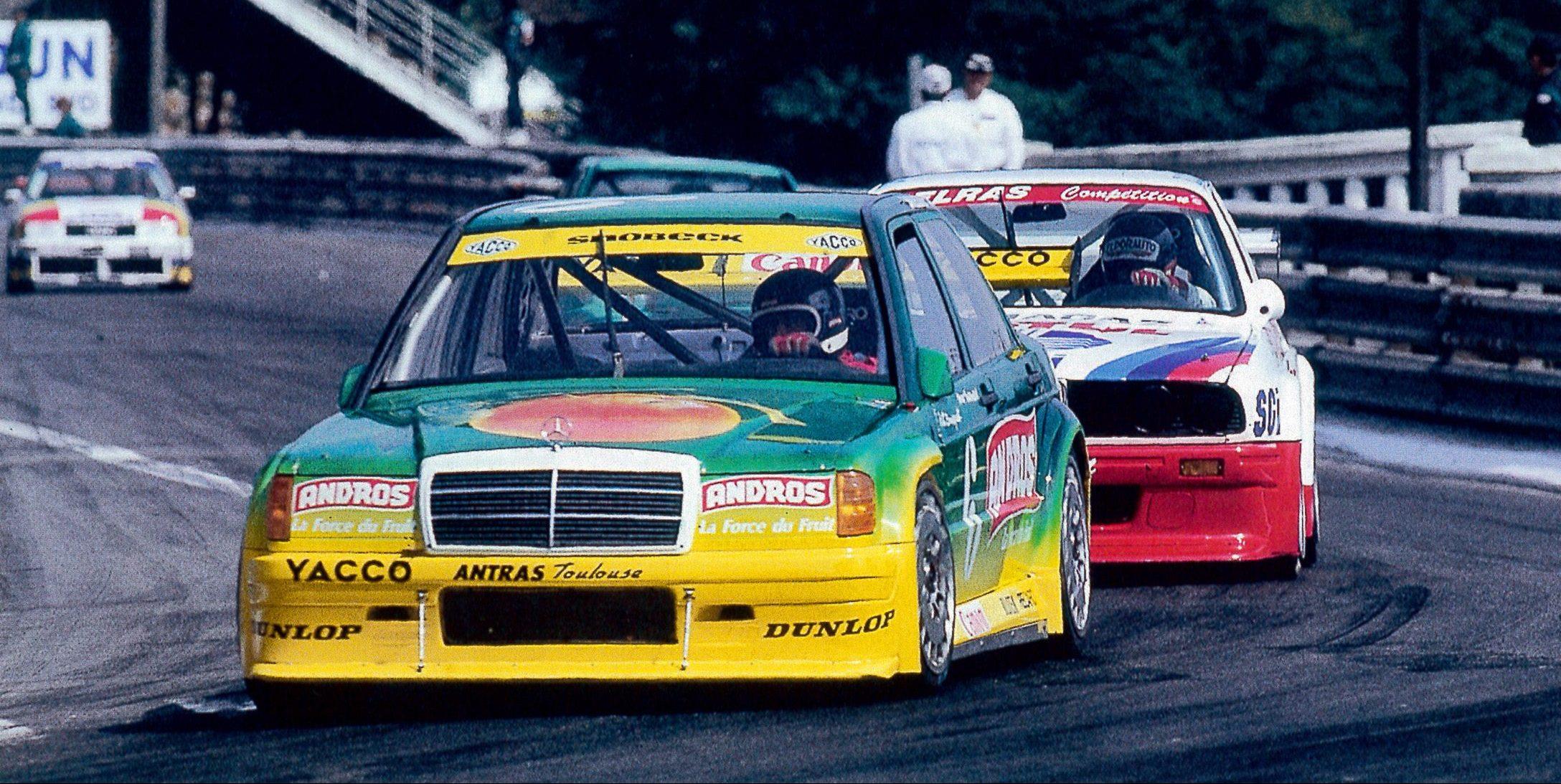 1991 - Mercedes 190 - Supertourisme