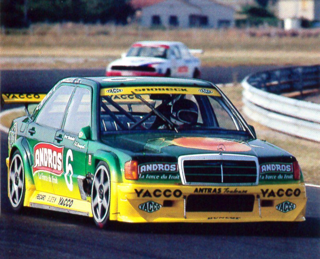 1991 - Mercedes 190 - Supertourisme - Albi - Dernière victoire - Mamers