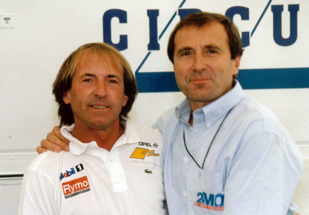 Avec Jacques Laffite