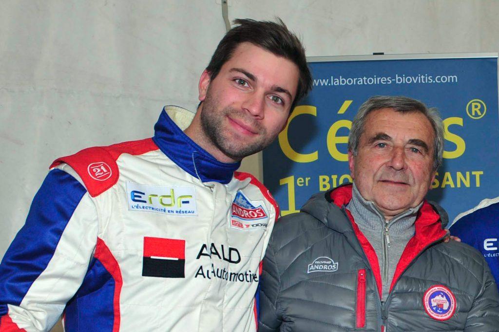 Avec Louis Gervoson