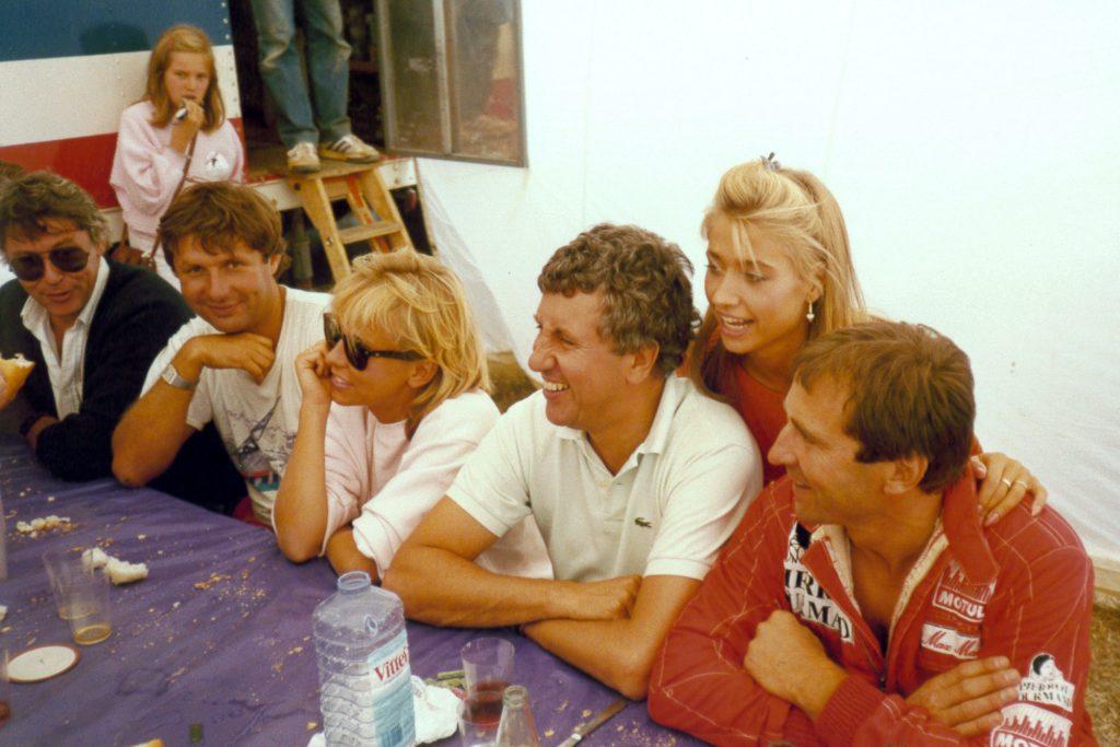 Avec Nati et Stéphane Collaro