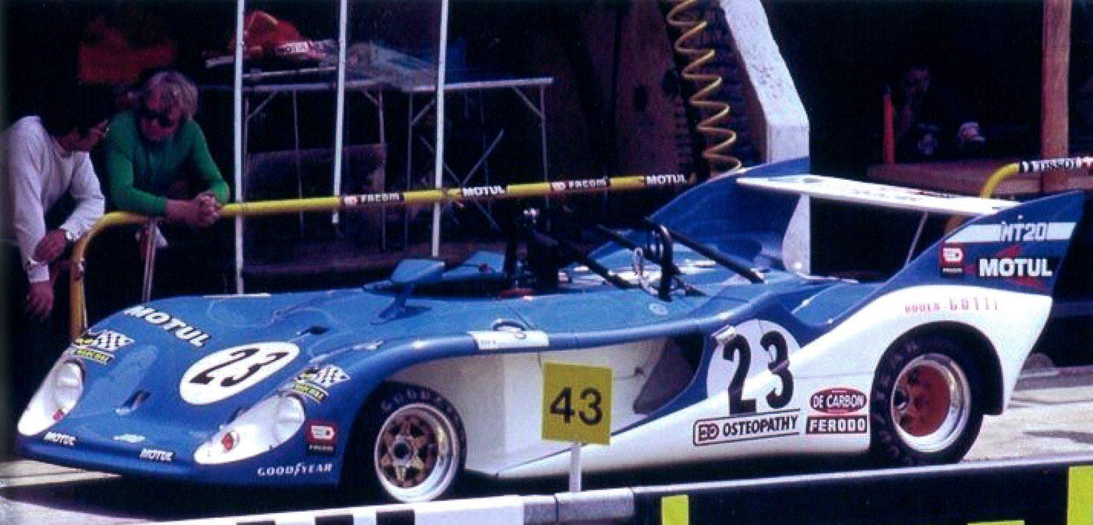 1974 - Grac Gotti MT20 - 24h Mans 1ère participation
