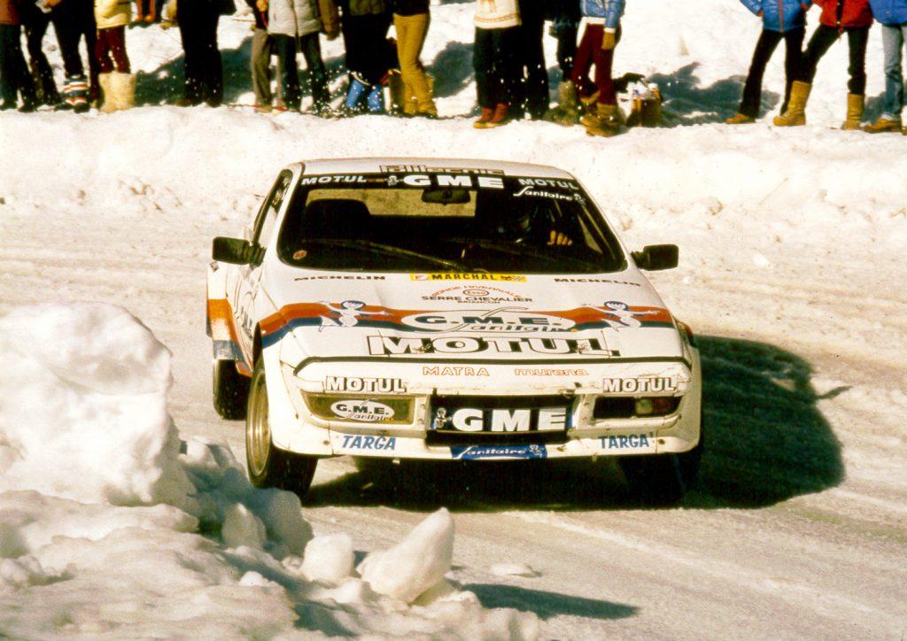 1982 - Matra Murena - Serre-Chevalier - 1ère sur glace
