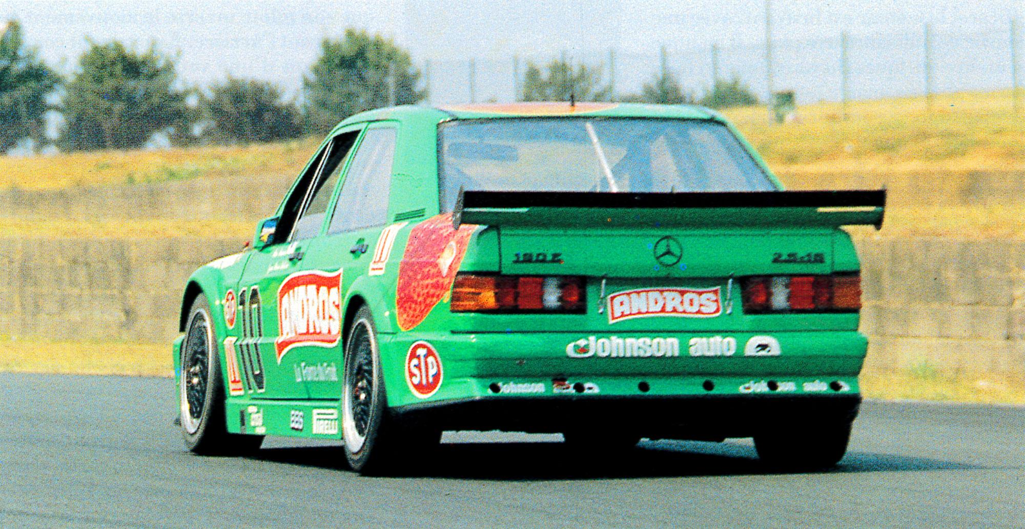 1990 - Mercedes 190 - Supertourisme - Co-équipier Jean-Pierre Beltoise