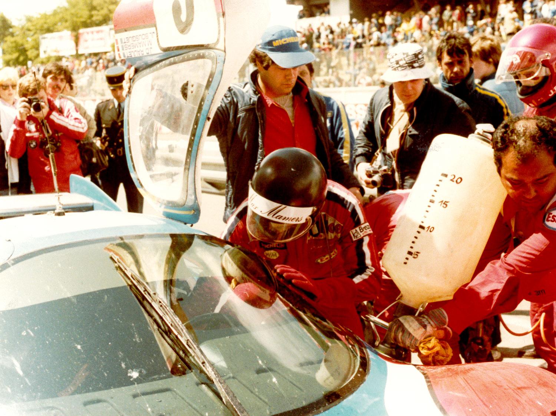 1977 - Le Mans - WM - Ravitaillement-2